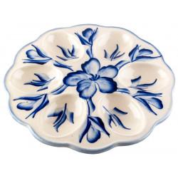 """Керамическая тарелка для пасхальных яиц """"цветок"""""""