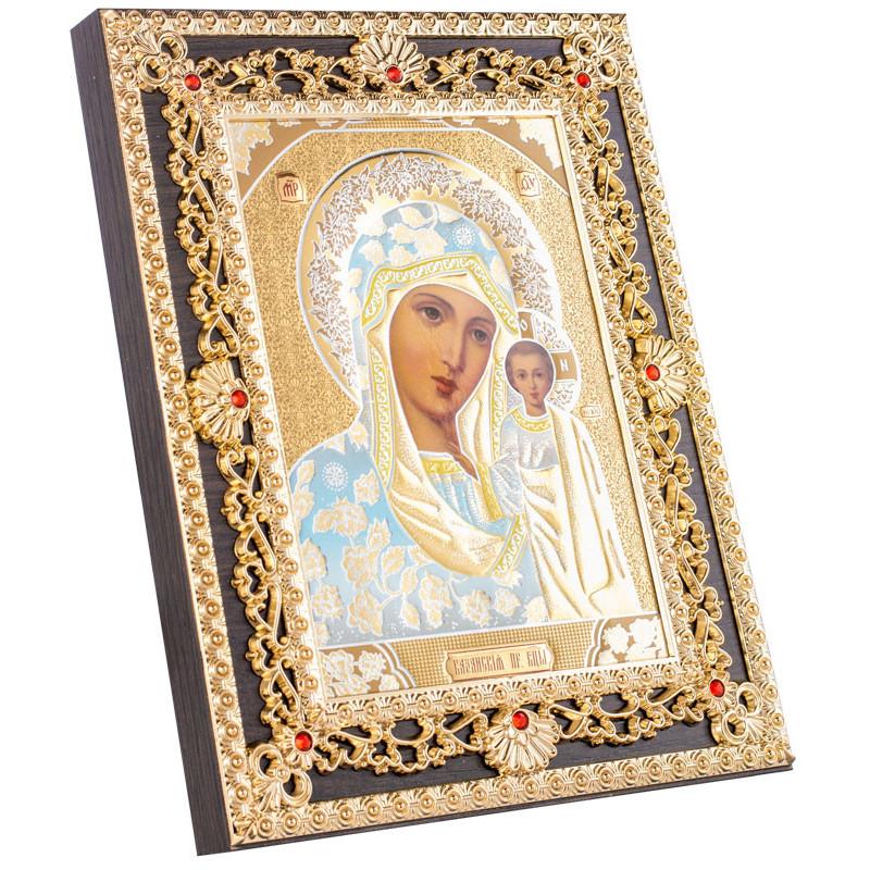 Икона Божия Матерь «Казанская» 17,5х22 см