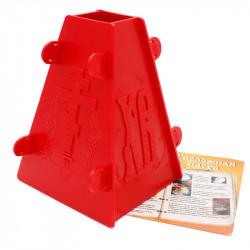 Форма для пасхи пластмассовая на 1 кг, с рецептами