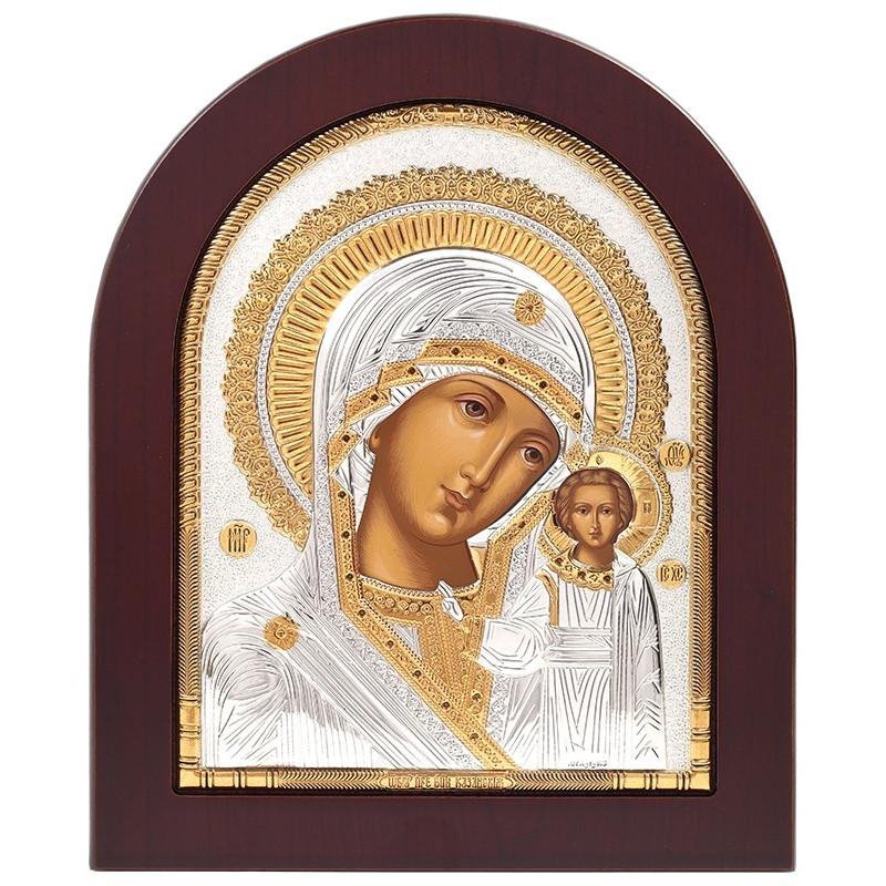 Икона Божья Матерь Казанская (русский стиль)