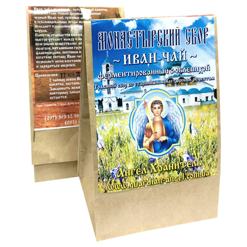 Монастырский чай: Иван-чай с облепихой (ферментированный)