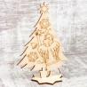 Рождественский сувенир для раскрашивания «Ёлка»
