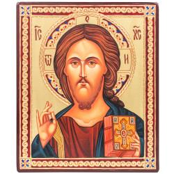 Икона писаная Спаситель 15х18 см