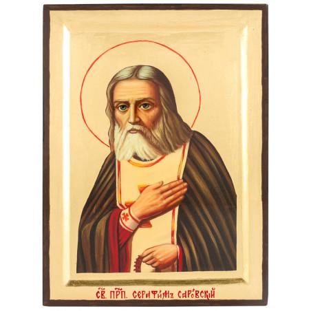 Икона Серафим Саровский 17х23 см (Греция)