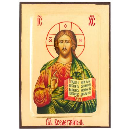 Икона Спаситель 17х23 см (Греция)