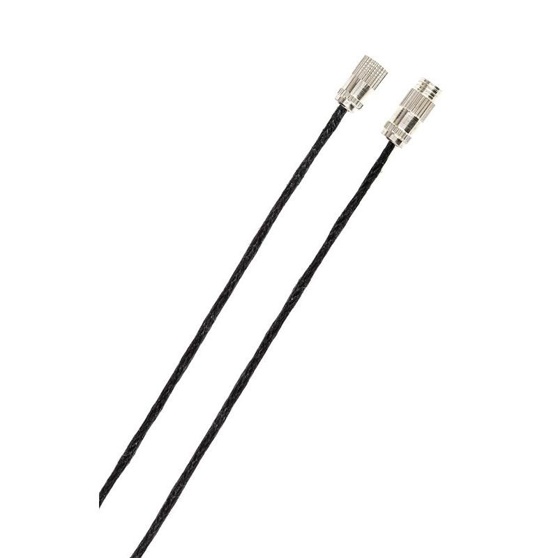 Шнурок с замком для крестика, хлопчатобумажный (2924)