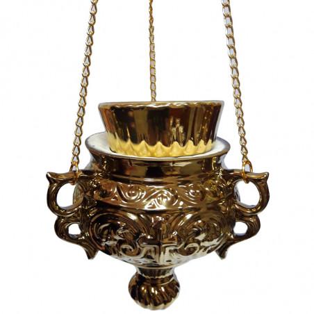 Керамическая лампада...