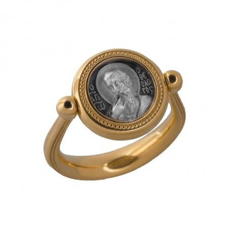 Перстень с иконой «Святой...