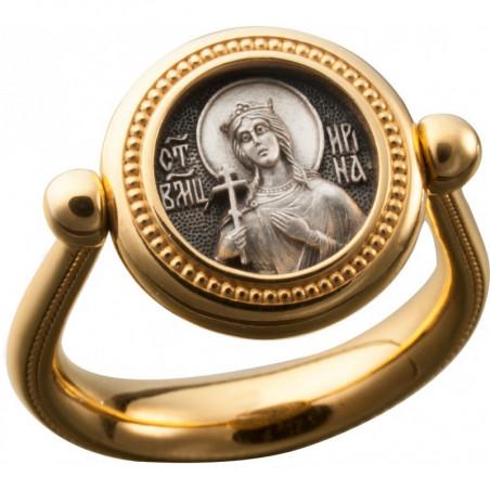Перстень с иконой «Святая...