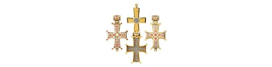 Кресты-мощевики (энколпионы)
