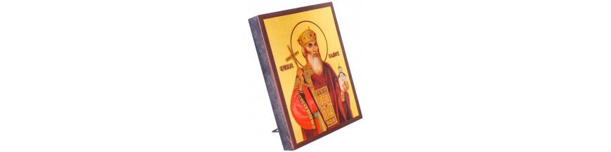 Иконы с имитацией сусального золота