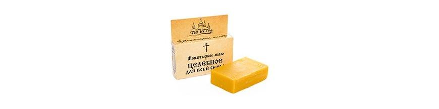 Монастырское натуральное мыло и шампунь
