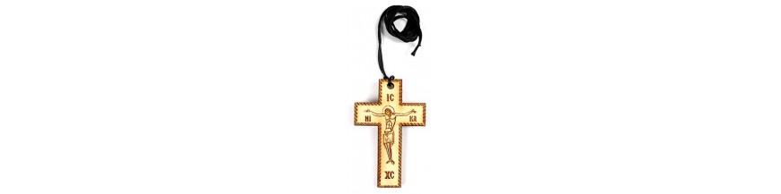 Деревянные нательные кресты